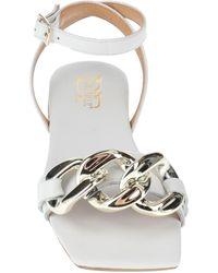 Divine Follie Sandals - White