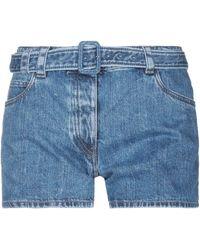 Prada Denim Shorts - Blue