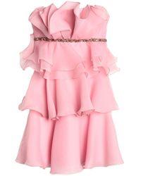 Jenny Packham Vestito corto - Rosa