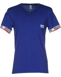 Moschino Unterhemd - Blau