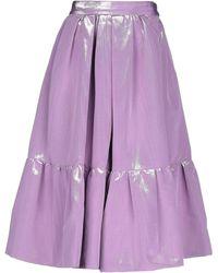 Marc Jacobs 3/4 Length Skirt - Purple