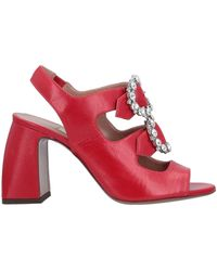 L'Autre Chose Sandals - Red