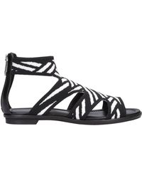 What For Sandals - Black