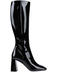 Prada Knee Boots - Black