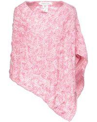 Lamberto Losani Capes & Ponchos - Pink