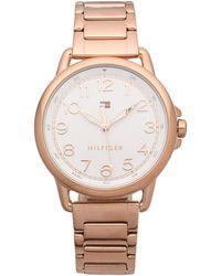 Tommy Hilfiger Wrist Watch - Metallic