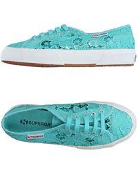 Superga Low Sneakers & Tennisschuhe - Blau