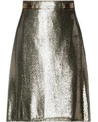 Etro Mini Skirt - Metallic