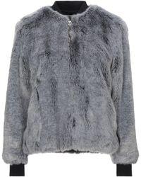 Golden Goose Teddy Coat - Grey