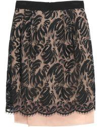 Valentino Knee Length Skirt - Multicolour