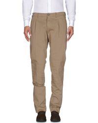 Lardini Casual Trousers - Natural