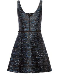 Proenza Schouler Robe courte - Bleu