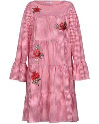 Brigitte Bardot Knee-length Dress - Red