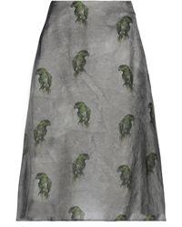 Lardini Midi Skirt - Grey