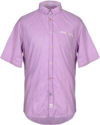 Panama Shirt - Purple