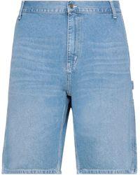 Carhartt Jeansbermudashorts - Blau