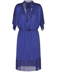 Annarita N. Short Dress - Purple