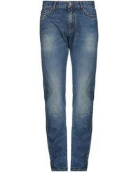 Aspesi Pantalon en jean - Bleu