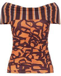 Beatrice B. T-shirt - Orange