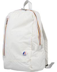 K-Way Backpacks & Bum Bags - White