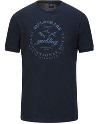 Paul & Shark Camiseta - Azul