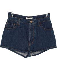 Amen Denim Shorts - Blue