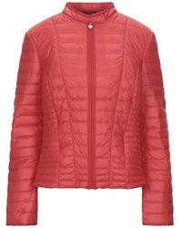 Guess Synthetic Down Jacket - Red