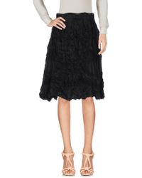 5preview - Knee Length Skirt - Lyst
