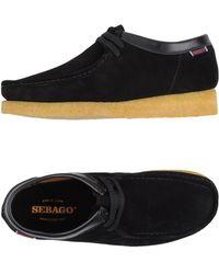 Sebago Zapatos de cordones - Negro