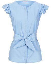 NUALY Camisa - Azul