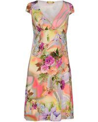 Ean 13   Short Dress   Lyst