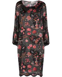 Shirtaporter Short Dress - Black