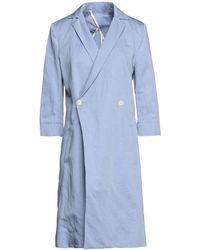 Malloni Overcoat - Blue