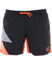 EA7 Swim Trunks - Black