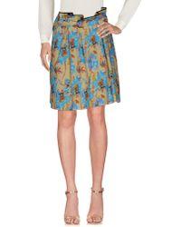 Aglini - Knee Length Skirts - Lyst