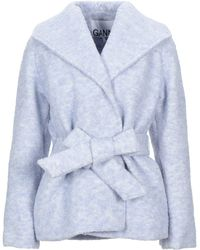 Ganni Coat - Blue