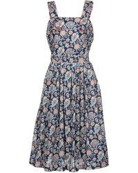 Maison Kitsuné - 3/4 Length Dresses - Lyst