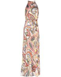 ViCOLO Robe longue - Jaune