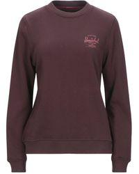 Herschel Supply Co. Sweatshirt - Purple