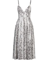 MSGM 3/4 Length Dress - Multicolour