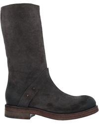 Roberto Del Carlo Knee Boots - Gray