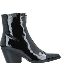 Jeffrey Campbell Ankle Boots - Black
