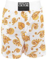 Versace Jeans Couture Bañadore tipo bóxer - Blanco