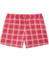 Tod's Swimming Trunks - Red