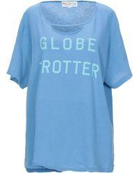 Wildfox Globetrotter T-shirt - Blue