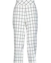 Annarita N. Casual Trousers - White