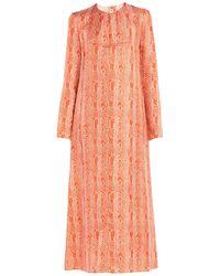 Marni Long Dress - Orange