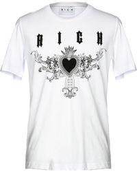 John Richmond T-shirt - Blanc