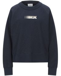 WOOD WOOD Sweatshirt - Blau