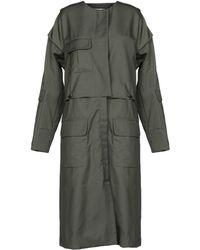 INTROPIA Overcoat - Green